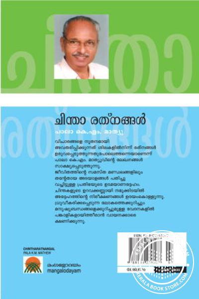 back image of Chintha Rathnagal