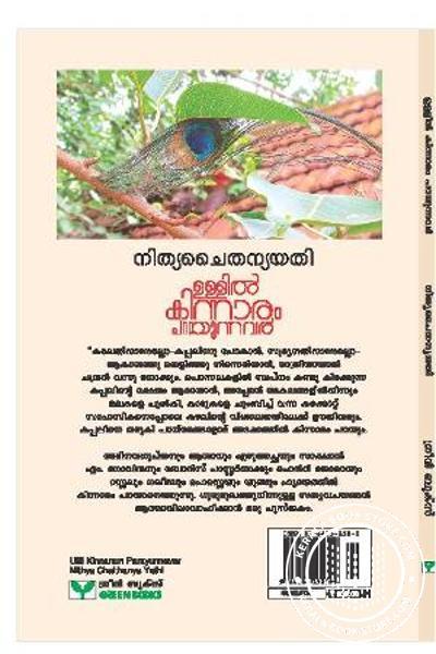 back image of Ullil Kinnaram Parayunnavar