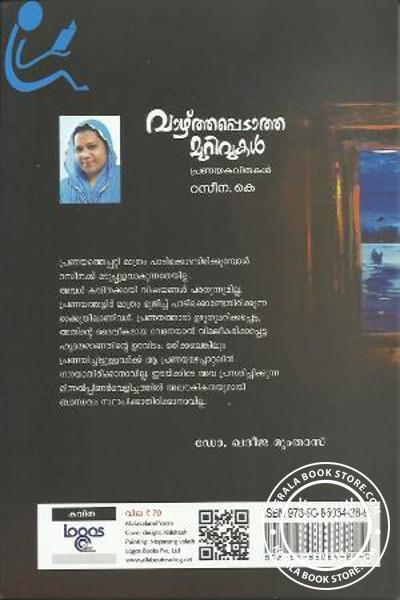 back image of Vazhthappedatha Murivukal