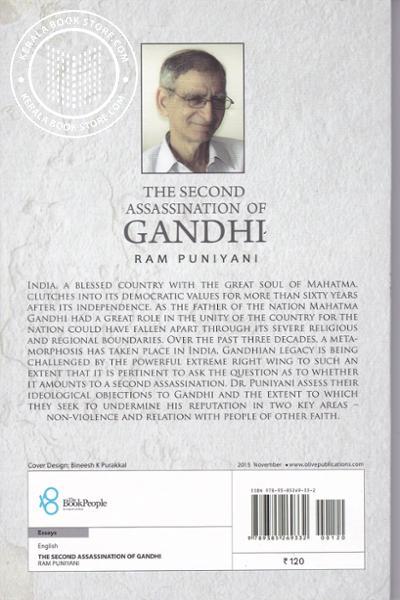 back image of The Secound Assassination Of Gandhi